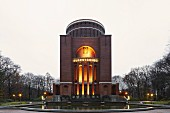 The Planetarium in Hamburg, Stadtpark, Winterhude