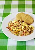 Ackee And Saltfish (traditionelles Gericht aus Jamaika)