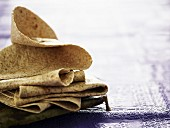 Wholemeal wheat tortillas