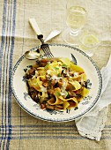 Pappardelle with a wild boar gravy