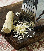 Horseradish and a grater