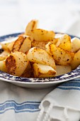 Fried potatoes with herbs