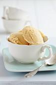 A cup of redbush ice cream
