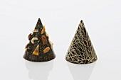 Chocolate Christmas tree decorations