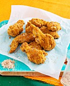 Buttermilk crumbed chicken wings