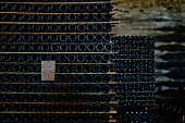 Baga wine in storage, Portugal