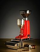 Espresso machine accessories: a coffee bean mill, coffee mill, Quamar Q50