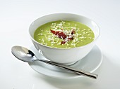 Cream of pea soup