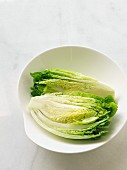 Fresh lettuce in a bowl