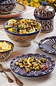 Bean salad with lemons (Tunisia)