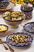 Bohnensalat mit Zitronen (Tunesien)