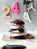 Lebkuchen als Weihnachtsgeschenk