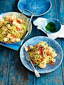 Spaghettini mit Calamari