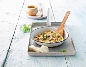 Mushroom tortilla