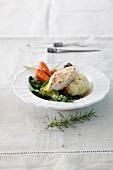 Hähnchenschnitzel mit Gemüse