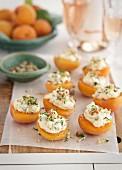 Stuffed apricots