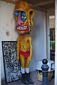 Art in the popular Florentin quarter, Tel Aviv