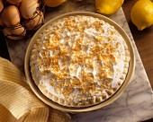 Lemon Pie mit Baiserhaube & Kokosraspeln