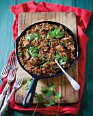 Beef with lentils (Morocco)