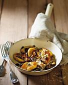 Gnocchi with hazelnuts