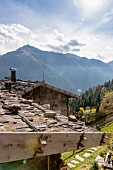 Hütte im Ultental, Südtirol