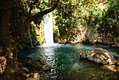 Hermon Waterfall, Golan, Israel