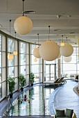 The spa in the Ein Gedi Kibbutz Hotel on the Dead Sea, Israel