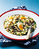 Kedgeree (rice dish with fish)