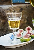 Capofaro dessert wine from Tasca d'Almerita (Malvasia great), Sicily