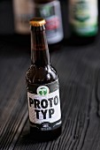 A bottle of Prototyp (craft beer from an artisan brewery)