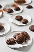 Chocolate biscuits with chilli