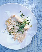 Ray wing Grenoble with capers and tarragon