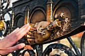 Das Berühren eines Sterns bringt Glück, Johannes von Nepomuk, Prag