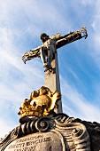Kruzifix am Altstädter Brückenturm, Prag