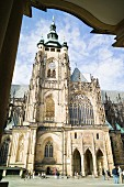 The imposing St. Vitus Cathedral in Prague