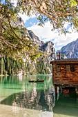 Der eiskalte Prageser Wildsee, Südtirol
