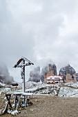 Die Dreizinnenhütte in Südtirol