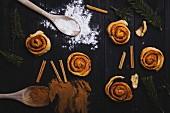 Cinnamon buns (Christmas)