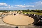 An important Roman amphitheatre in Xanten, North Rhine Westphalia
