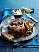 Apple and pear chutney