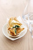 Spanakopita (pastry parcels filled with spinach, Greece)