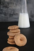 Gluten-free biscuits with peanuts