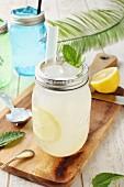 Lemonade with ice cream