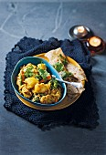Vegetable makhanwala (vegetable curry, India)