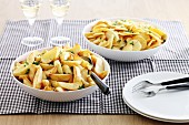 Variations of fried potatoes