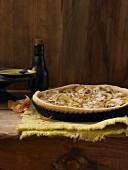 Potato and onion tart