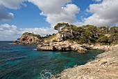 The Cala S'Almunia beach on the South East coast, Majorca