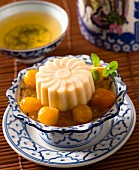 Rice desert with kumquats (Asia)