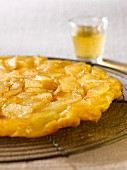 Caramelized pear thin Tatin tart