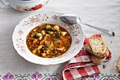Ribollita (Tuscan vegetable soup)